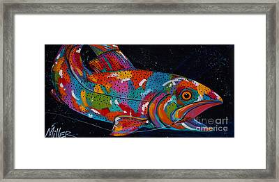 It Really Was This Big  Framed Print by Tracy Miller