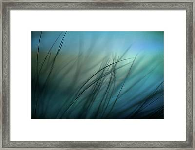 It Takes Courage To Stay Delicate Framed Print