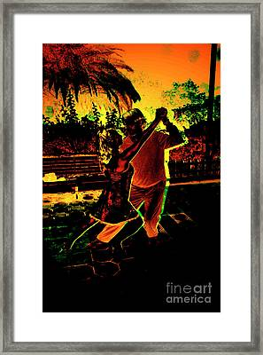 Framed Print featuring the photograph It Takes Two To Tango by Al Bourassa