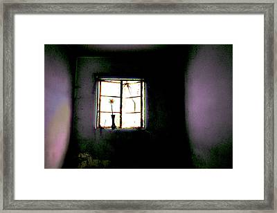 Framed Print featuring the photograph It Was Her Room... by Gray  Artus