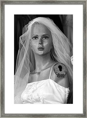 It Was Never To Be Framed Print by Jez C Self