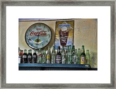 It Was Time For A Drink Framed Print by Jan Amiss Photography