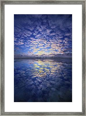 Framed Print featuring the photograph It Was Your Song by Phil Koch