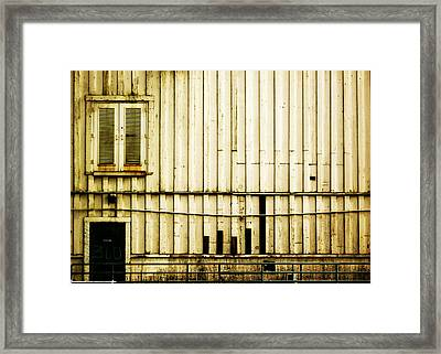It Went Downhill Framed Print by Jeff DOttavio