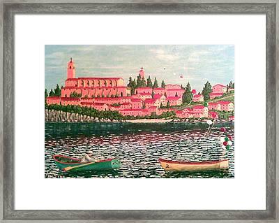 Italia Framed Print by Frank Morrison