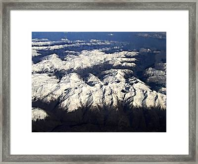 Italian Alps Framed Print by David and Lynn Keller