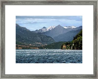 Italian Alps Framed Print
