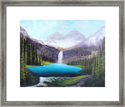 Italian Alps Framed Print
