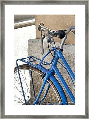 Italian Bike Framed Print by Robert Lacy
