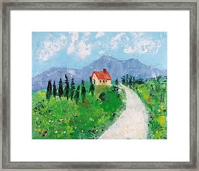 Italian Cottage Framed Print