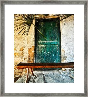 Italian Cottage Framed Print by Emilio Lovisa