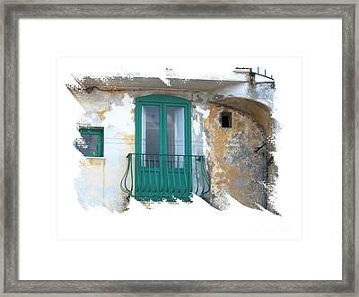 Italian Doors Framed Print by Jim Wright
