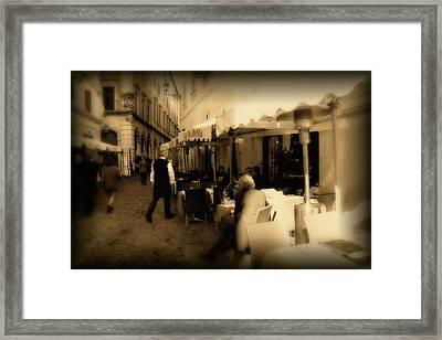 Italian Dream Framed Print by Jason Wolters