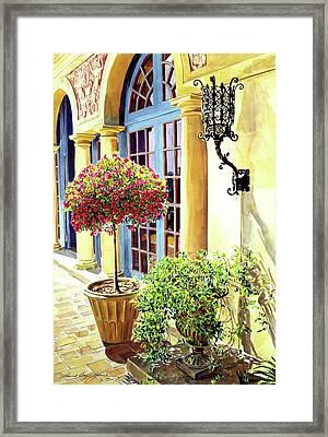 Italian Elegance Framed Print by David Lloyd Glover