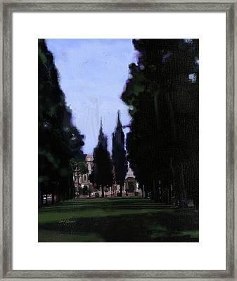Italian Entry Framed Print
