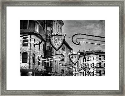 Italian Festival Boston North End Framed Print