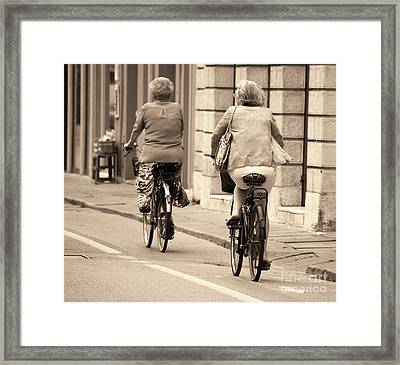 Italian Lifestyle Framed Print