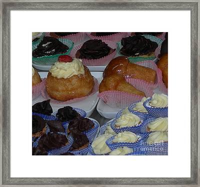 Italian Pastries Framed Print by Sherri Bramlett