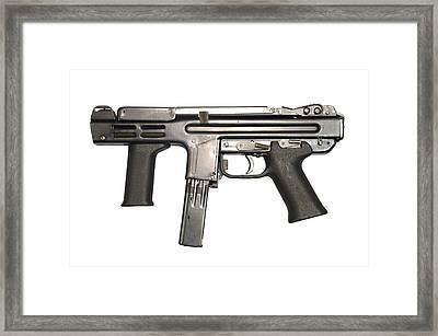 Italian Spectre M4 Submachine Gun Framed Print by Andrew Chittock