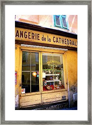Italian Street Framed Print by Frank Turner