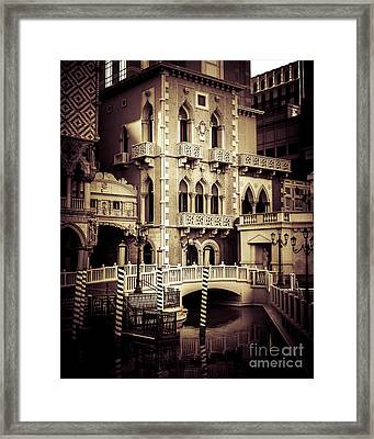 Italian Style Framed Print by Perry Webster