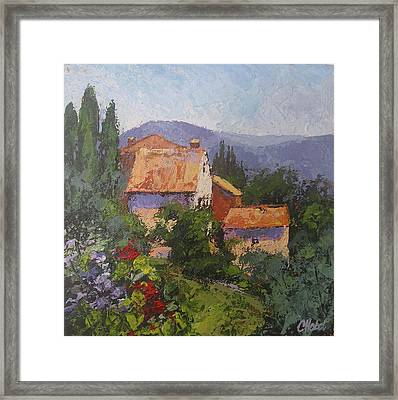 Italian Village Framed Print