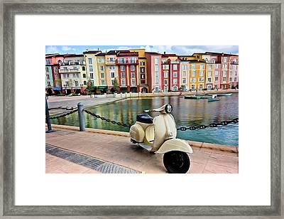 Italian Vista Series 8011y Framed Print