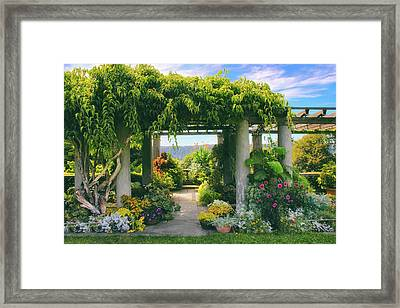 Italianate Terrace Framed Print by Jessica Jenney