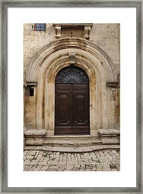 Italy - Door Eighteen Framed Print