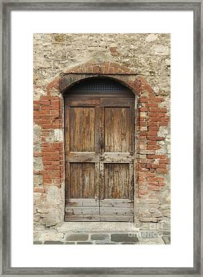 Italy - Door Eleven Framed Print