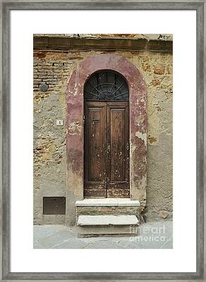 Italy - Door Seven Framed Print