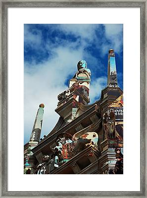Italy And France Framed Print by Robert Meanor
