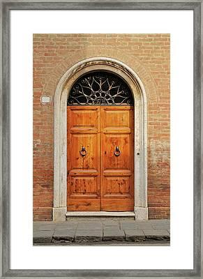 Italy - Door Fifteen Framed Print