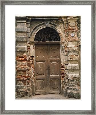 Italy - Door Four Framed Print