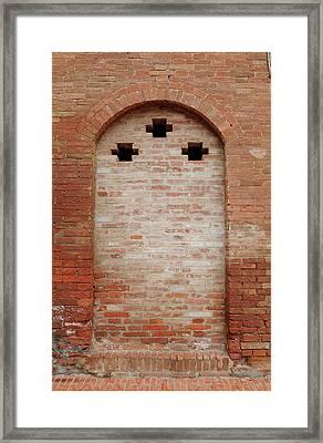 Italy - Door Fourteen Framed Print