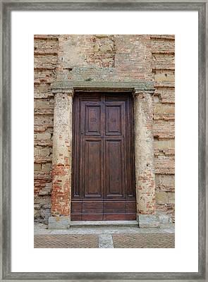 Italy - Door Nineteen Framed Print