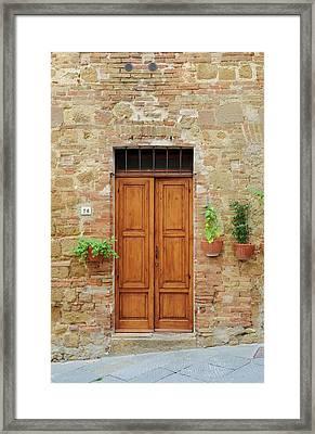 Italy - Door Six Framed Print