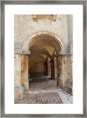 Italy - Door Sixteen Framed Print