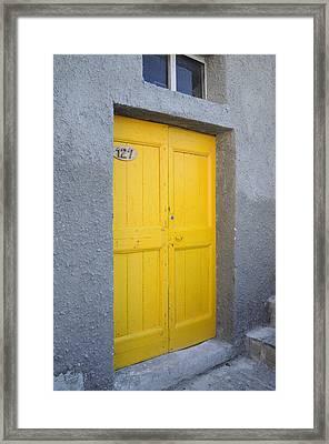 Italy - Door Three Framed Print