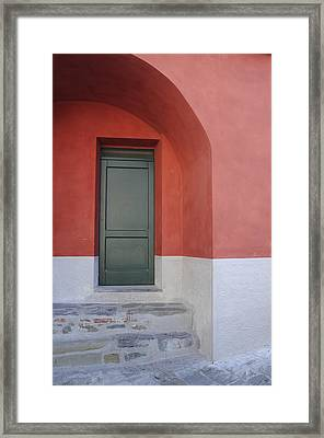Italy - Door Two Framed Print