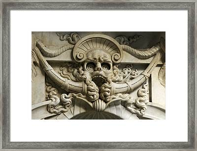 Italy, Florence, Deatil From San Framed Print by Keenpress