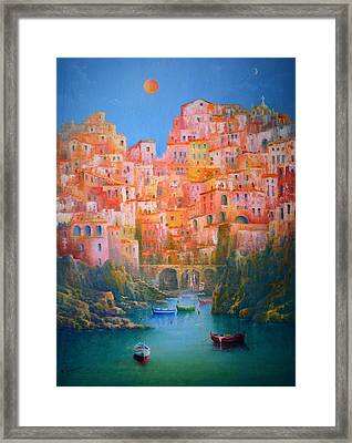Impressions Of Italy   Framed Print