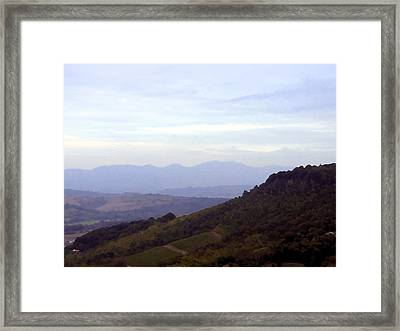Italy Framed Print by Mindy Newman