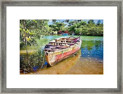 Framed Print featuring the photograph Itaparica Transportation by Kim Wilson