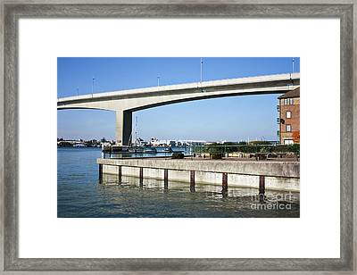 Itchen Bridge Southampton Framed Print by Terri Waters