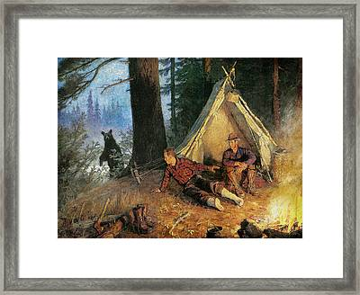 Its A Bear Framed Print by JQ Licensing