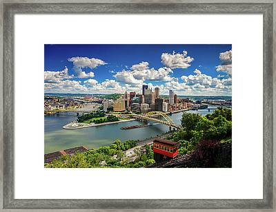 It's A Beautiful Day In The Neighborhood Framed Print