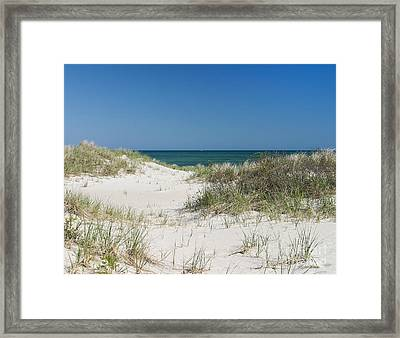 It's A Cape Cod Kind Of Day Framed Print