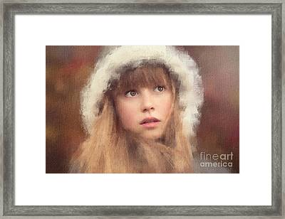 It's A Cold Autumn Morning Framed Print