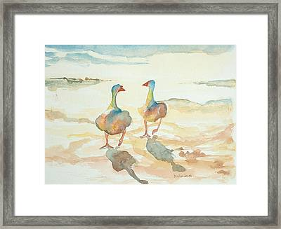 It's A Ducky Day Framed Print